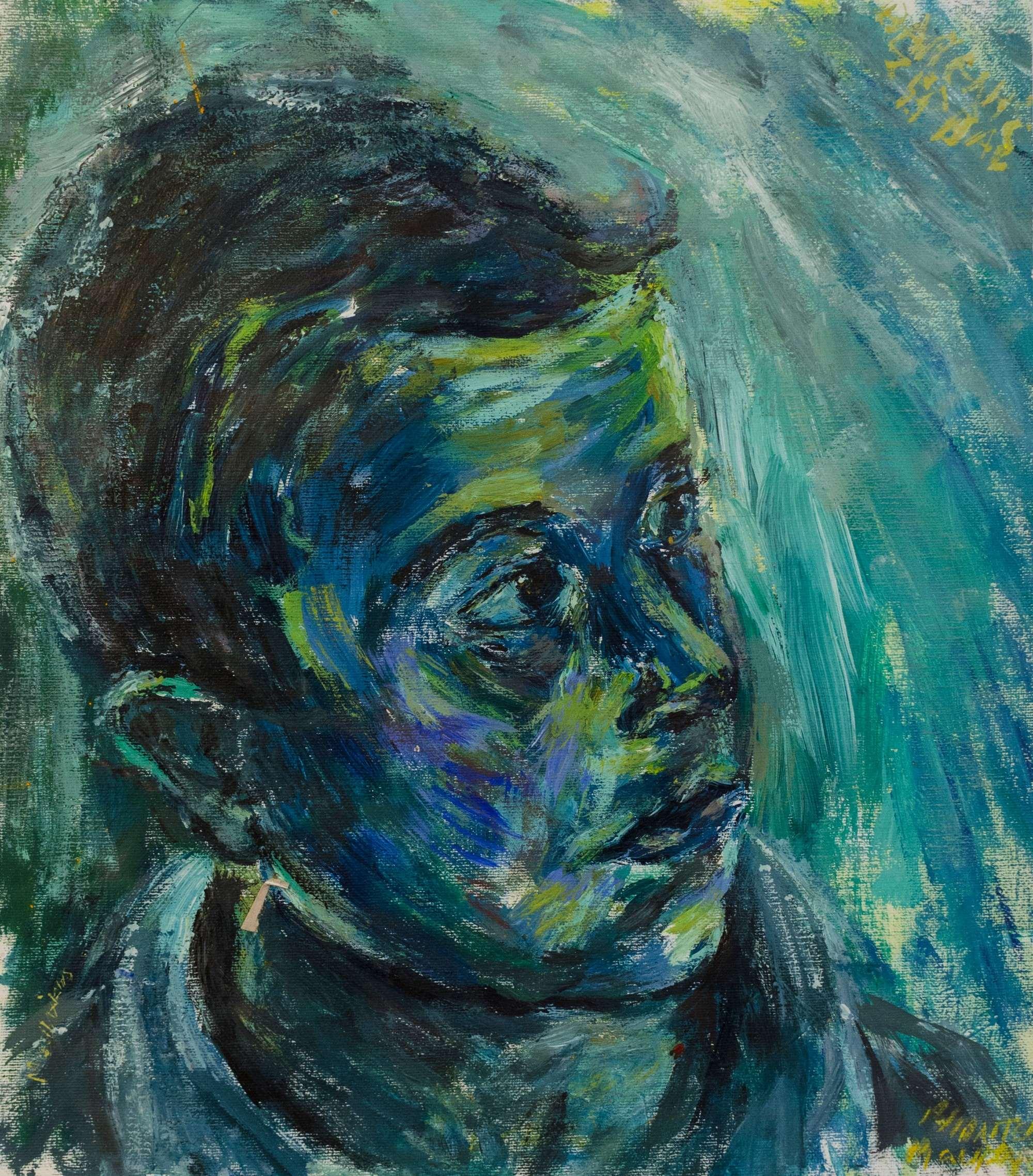 Acrylic colours.Vaggelis.32x28cm