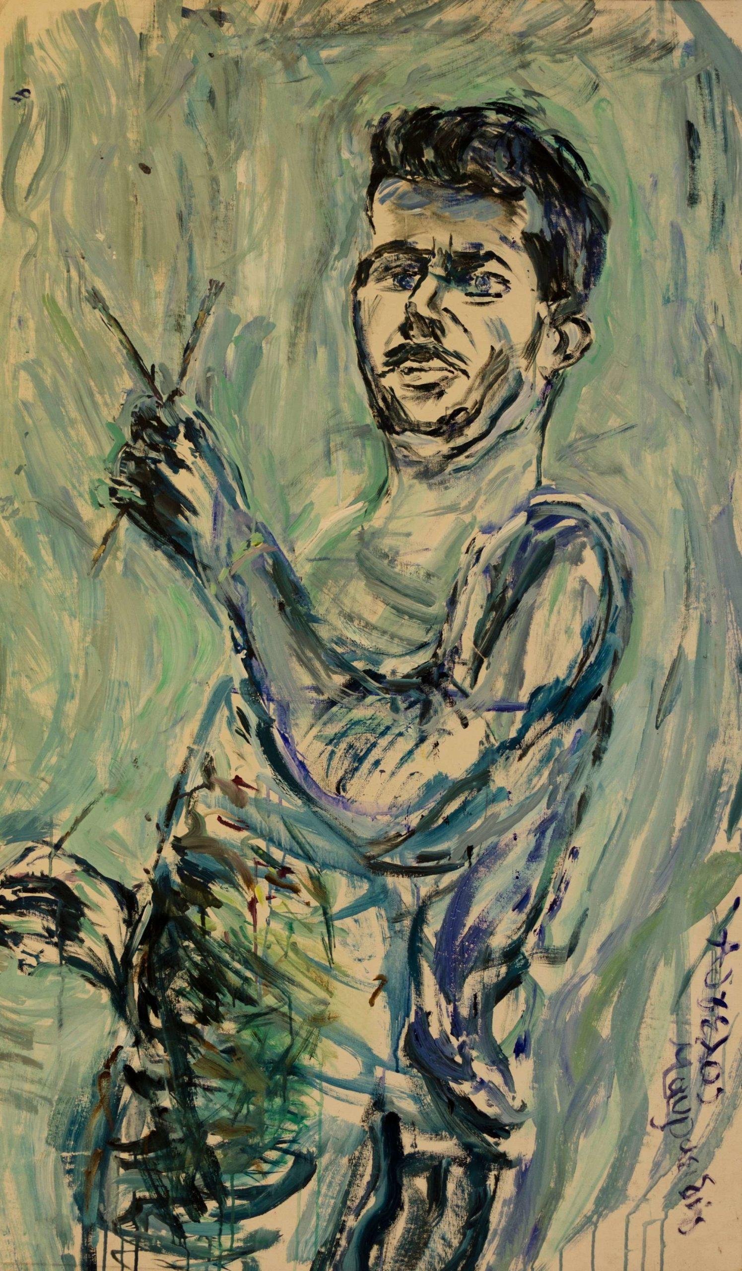Acrylics..Maestro.84x140cm